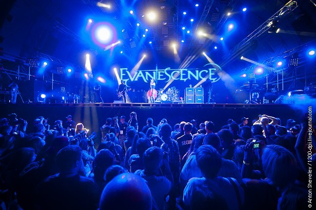 A New Way to Bleed Evanescence (Мстители 2012)