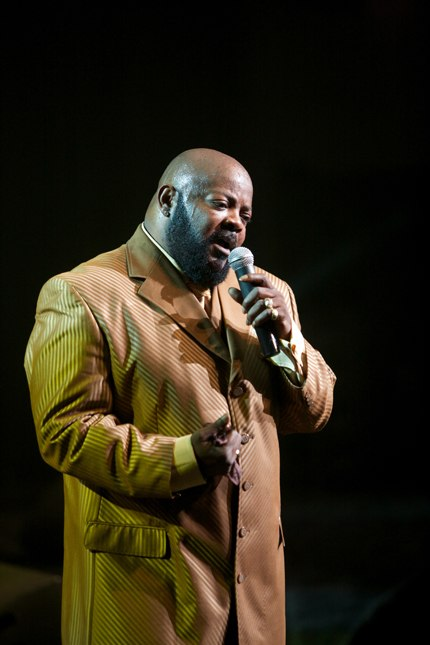 I love you, baby! Barry White