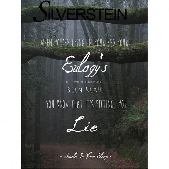 Smile In Your Sleep Silverstein